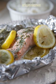 Quick & Easy Grilled Salmon | Tried and Tasty