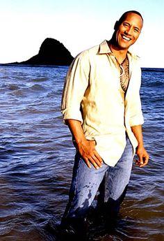 Dwayne 'The Rock' Johnson .. handsome & funny