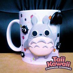 Adorable 'Totoro' And 'Spirited Away' Mugs Make Mornings Happier