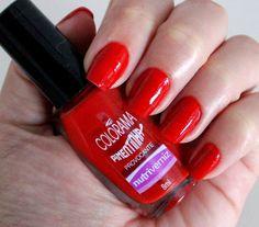 Vermelho belíssimo e de alta qualidade!!! Deixe suas unhas ainda mais lindas e provocantes com esse esmalte top! Garanta já o seu:www.lojadeesmaltes.com.br