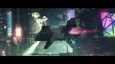 Cyberpunk City (cinematic frame #1) by artursadlos.deviantart.com on @DeviantArt
