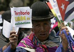 Son territorios libres de analfabetismo Antigua y Barbuda, Bolivia, Cuba, Nicaragua y Venezuela