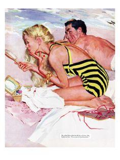 No Man Is Worth It  - Saturday Evening Post - Joe De Mers
