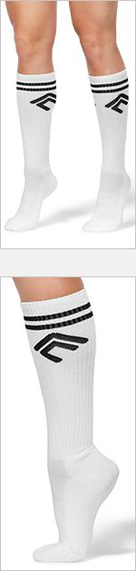AC for Beachbody Socks Item #: ACSocks Amp up your favorite workout look with a fun pair of socks. Autumn takes a retro style and gives it a modern twist in these comfy ribbed socks with vintage stripes and her personal logo.