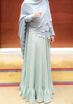 Abaya Fashion, Fashion Wear, Modest Fashion, Fashion Outfits, Hijab Style, Hijab Chic, Moslem Fashion, Simple Dress Pattern, Hijab Fashion Inspiration