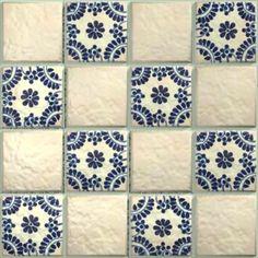 LeMog - 3dTextures - Carrelage Azuleros Bleus 2 - Tiles/347 malaga