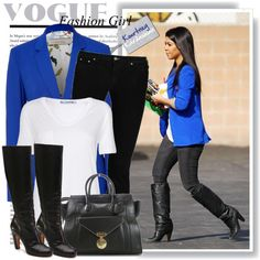 """Style Diary: Kourtney Kardashian"" by misslcb on Polyvore"