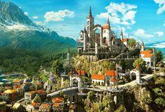 Wiedźmin 3: Krew i Wino - krótka wycieczka po posiadłości Geralta
