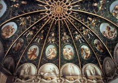 Antonio Allegri detto il Correggio - Camera della Badessa o di San Paolo (Parma), 1519, Italy