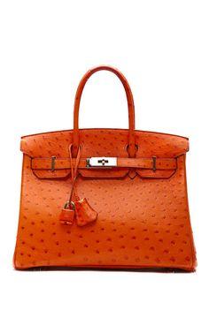30Cm Tangerine Ostrich Birkin Best Handbags d7fd971f4ee70