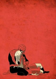 Why are you trying to rip me to shreds from the inside out this is too much.... ///Spiderman- Tim Sale