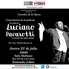 Grandes de la ópera: Luciano Pavarotti 21 Julio