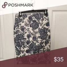 Ann Taylor floral pencil skirt New with tags. No trades. Thanks. Ann Taylor Skirts