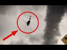 News Helicopter sucked in by a Tornado Video