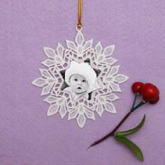 FSL Snowflake Photo Ornaments 2