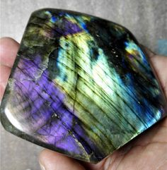 359g-Natural-Crystal-purple-Labradorite-Polishing-Rough-Stone-Sample-Healing-142