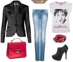 Become queen of Friday night with our magic LADYBAG. Madonna style rocks! :)