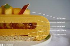 Mango Mousse, Beautiful Cake Designs, Beautiful Cakes, French Pastries, Pop Tarts, Bakery, Cheesecake, Deserts, Sweet