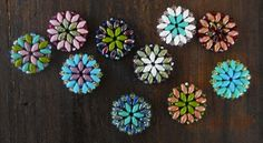 Legendary Beads » Easy summer medalians with superduos.  Components for many other pieces  ~ Seed Bead Tutorials