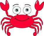 Cartoon Crab -