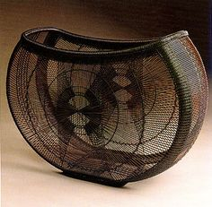 bamboo basket from TAI Gallery/Textile Center, Santa Fe, NM
