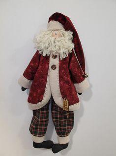 Papá Noel Christmas Ornaments To Make, Christmas Gnome, Christmas Sewing, Christmas Makes, Very Merry Christmas, Christmas Goodies, Christmas Art, Christmas Projects, Handmade Christmas