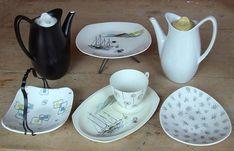midwint ceram, 1950s midwint, vintag china, fifti midwint, midwint china