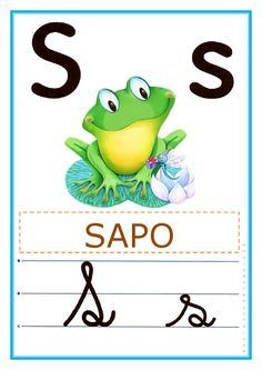 ♥Sugestão De Atividade Escolar♥: Alfabeto de parede