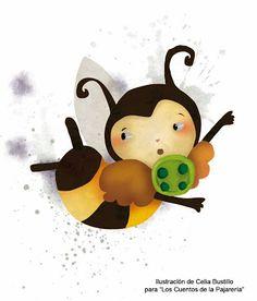 La Pajarería: Gualdita es una abeja traviesa y soñadora. Un día, mientras vuela despistada, cae en una tela de araña que… Bueno, mejor no adelantar lo que ocurre para no desvelar las sorpresas del cuento. Pero lo que sí os diré es que esta abejita siempre, siempre cumple su palabra. Aunque eso signifique regresar a la trampa más temida por todos los insectos del lejano y olvidado bosque: la tela de la temible araña del parche.