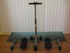 Leg Magic Exercise Machine Exerciser For Legs Thighs Quest Silver Black  #LegMagic