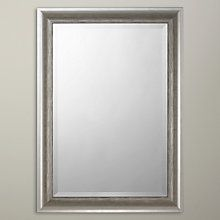 Buy John Lewis Bevelled Wall Mirror, Silver Online at johnlewis.com