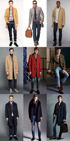 Jeans With Tailored Coats - Men's Outfit Inspiration Lookbook