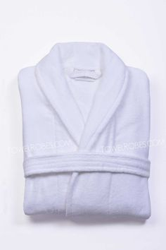 99a6f36ce8 Terry Velour Shawl Robe. Hotel SpaCollectionLuxury ...