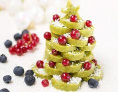 Raw vegan christmas cookie tree