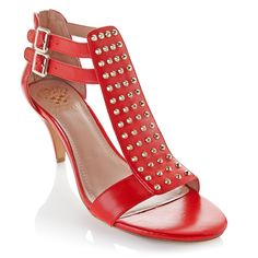 """Vince Camuto """"Minter"""" Sandal with Pyramid Studs at HSN.com"""