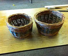 DIY basket weaving