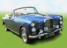 #alvis #artwork #auto show #automotive #blue #brand #british car brand #cabriolet #chrome #gloss #metallic #shiny
