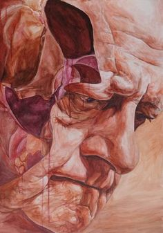 "Saatchi Art Artist Sebastian Konrad Sleczka; Painting, ""Retired, cut"" #art"