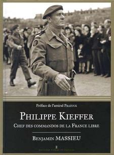 Philippe Kieffer, chef des commandos de la France Libre. L'homme est notamment connu pour avoir mené la seule unité française le jour J. Benjamin Massieu consacre aussi une place aux autres vies de ce militaire, avant et après-guerre.