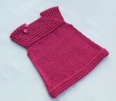 Baby Knitting Patterns Little sister's dress Knitting Pattern PDF (size Baby Knitting Patterns, Knitting For Kids, Baby Patterns, Free Knitting, Knitting Designs, Sewing Patterns, Knit Baby Dress, Knitted Baby Clothes, Baby Knits