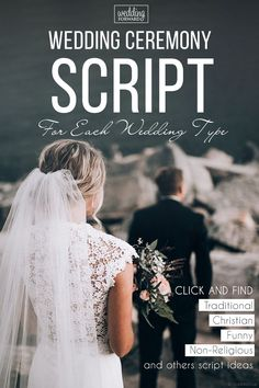 , 18 Sample Wedding Ceremony Scripts From Traditional To Non-Religious 2019 , Wedding Ceremony Script For Each Wedding Type (Updated List For ❤️ We have plenty of wedding ceremony samples for all sorts of scenarios. Wedding Ceremony Ideas, Wedding Day Tips, Wedding Types, Wedding Planning Tips, Free Wedding, Wedding Guest Book, Wedding Events, Perfect Wedding, Budget Wedding