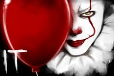 Fan Art - Pennywise from IT Pennywise Pennywise Painting, Pennywise The Dancing Clown, Bill Skarsgard, Halloween Art, Fanart, Clowns, Pattern Wallpaper, Horror Movies, Scary