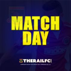 It's match day!     @therailfc are away at @CampionAFC tonight.    Postcode for the ground is BD9 5DB    See you there!