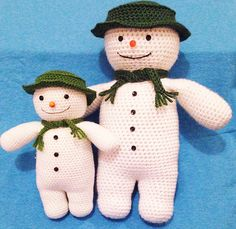 downloaded The Snowman pattern.