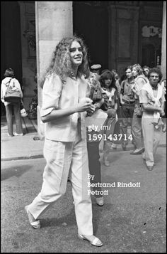 News Photo: Brooke Shields attends the presentation of Yves Saint Laurent 1980 fashion show