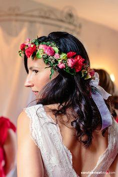Un mariage champêtre multicolore en Normandie | la mariee aux pieds nus