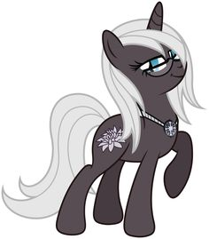 Snow Blossom - OC by Stabzor.deviantart.com on @deviantART Age: 19 Personality: Smart, kind, but can be a buzzkill sometimes.. lol Talent: Making plants grow through the snow. Preference: Someone who will take her to Manehattan for business.. Adopted by: Discord