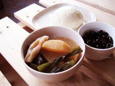 20131216_海帶滷白蘿蔔+蜜黑豆