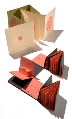 Craft de papel: Libros pop up. Regalo original hecho a mano.