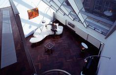 Edra, sillón modelo Flap diseñado por Francesco Binfaré. Mobiliario de diseño para hogar, hoteles y contract. (Espacio Aretha agente exclusivo para España).